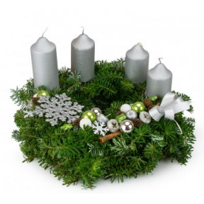 Advent wreath Fiocco