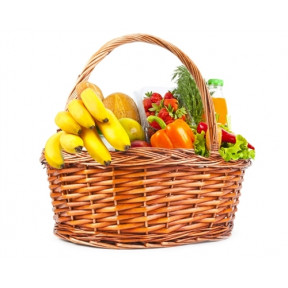 Fresh Organic Food Basket