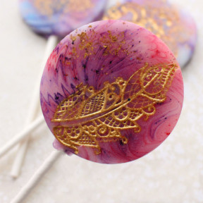 Indian Jewel Lollipop Favours