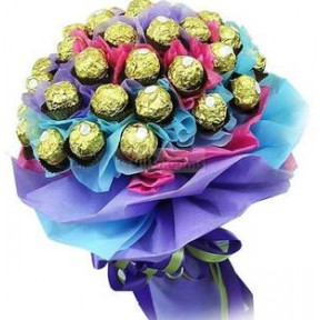 Ferrero Rocher Bouquet (16 pc Bouquet)