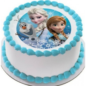 Frozen Photo Cake (1 Kg)