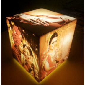 Personalised Lamp- Cubelit Tabletop