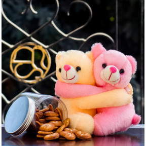 Cookies In A Jar With Hugs