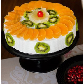 Kiwi And Orange Fruit Cake (1 Kg)