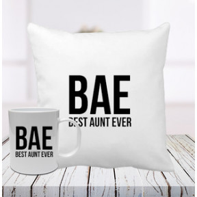 Cushion And Mug Combo For Aunt