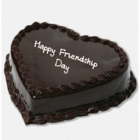 Heart Chocolate Friendship Cake (1 Kg Chocolate Cake)