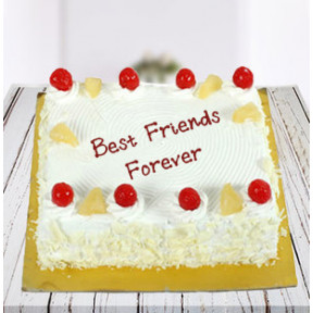 Bff Square Pineapple Cake (1 Kg Pineapple Cake)