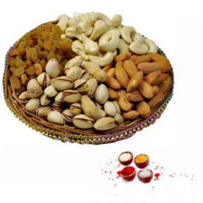 Dry Fruits With Rolli Tikka (1/2 Kg Mix Dry Fruits with Rolli Tikka)