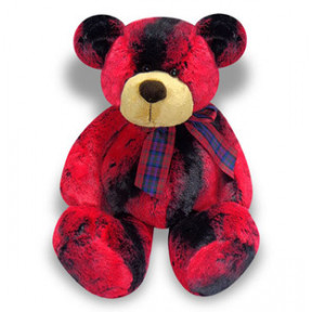 Red and  Black Teddy