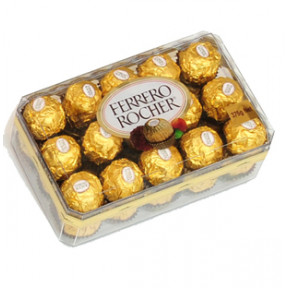 Ferrero Rocher Chocolate Box (16 pc Ferrero Rocher Box)