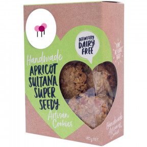 Artisan Cookies Dairy FreeApricot Sultana Super Seedy