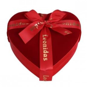 15 Leonidas Chocolates Wrapped In A Velvet Heart (Small)