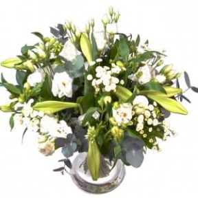 Bouquet Abroad White (Small)