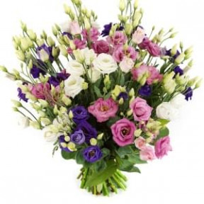 Eustoma'S Bouquet (Medium)