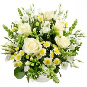 Sunny White Bouquet (Medium)