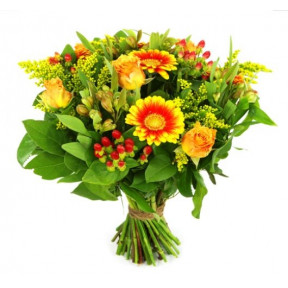 Mother's Day Bouquet Orange Yellow (small)