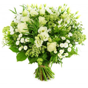 Mother's Day Bouquet Of White Flowers (small)