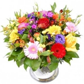 Cheerful Pappa flowers (Bouquet colorful cheerful daddy)