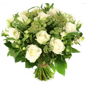 Mother's Beauty White Roses And Flowers (small)