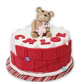 Red Beary Birthday