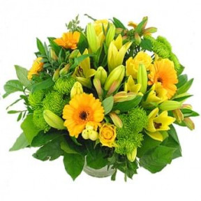 Bouquet Of Yellow Flowers (Medium)