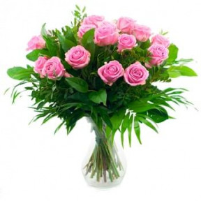 Bouquet Of Pink Roses (Standard)