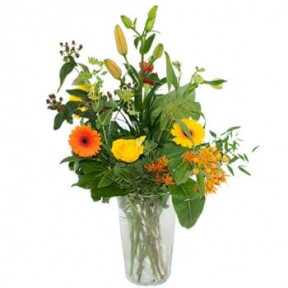 Palette Bouquet. Orange Yellow (Standard)