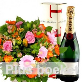 Bouquet + Champagne (Standard)