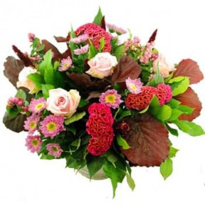 Beautiful Autumn Bouquet Pink (Standard)