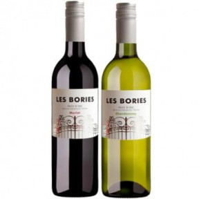 Les Bories Duo Merlot And Chardonnay
