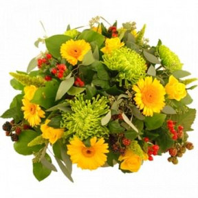 Beautiful Autumn Bouquet Yellow (Standard)