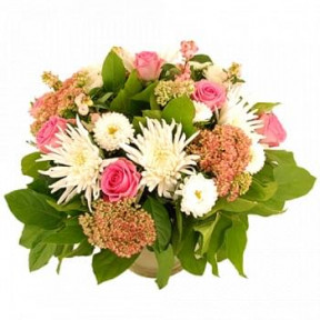 Beautiful Autumn Bouquet Pink-White (Standard)