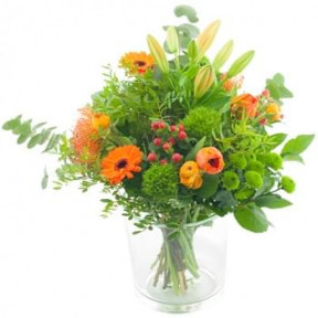 Seasonal Bouquet Orange (Standard)