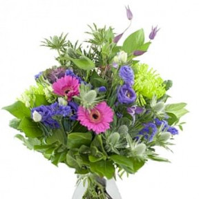 Seasonal Bouquet Roze Lilac / Purple (Medium)