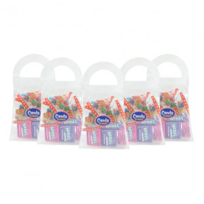 Wonka Nerds and  Jelly Belly Beans in Candy Purse x 5pcs