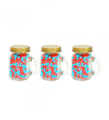 Party favors! Nerds Surf and  Turf in mason jar 100g x 3pcs