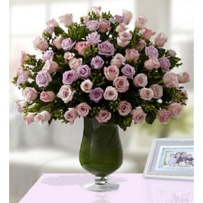 Just For Her (200 Pink  And Purple Roses)