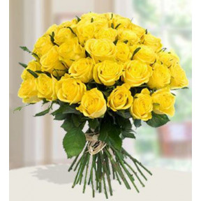 Positivity (60 Yellow Roses)