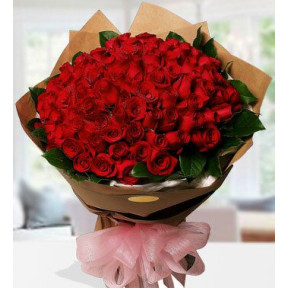 Romance Roses (200 Red roses)