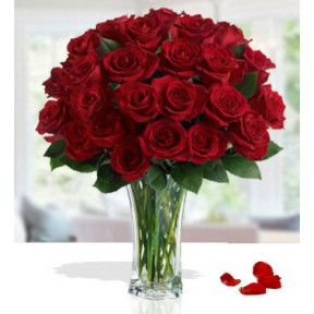 Gorgeous Romantic (48 Red Roses)