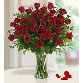 Breathtaking Roses (36 Red Roses)