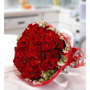 Exquisite Red (50 Red Roses)
