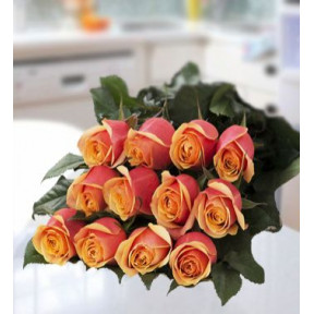 Forever Beloved (12 Orange Rose)