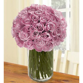 Lovely And Luxurious (40 Purple Roses)