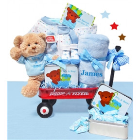Personalized It'S A Boy Wagon