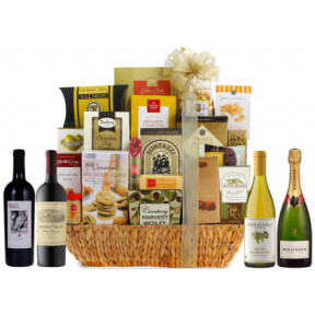 Point Super Grand Gourmet Wine Gift Basket 92