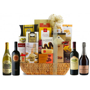 Collector'S Edition Grand Gourmet Wine Gift Basket