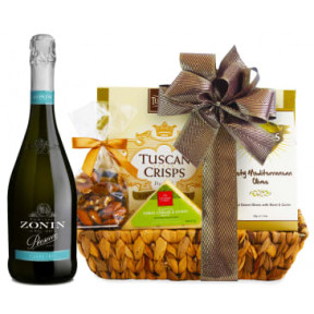 Point Prosecco & Cheese Gift Basket 90