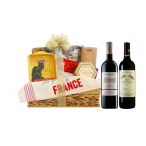 French Country Wine Gift Basket