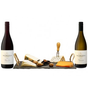 90 Point Wine & Cheese Board Gift Set
